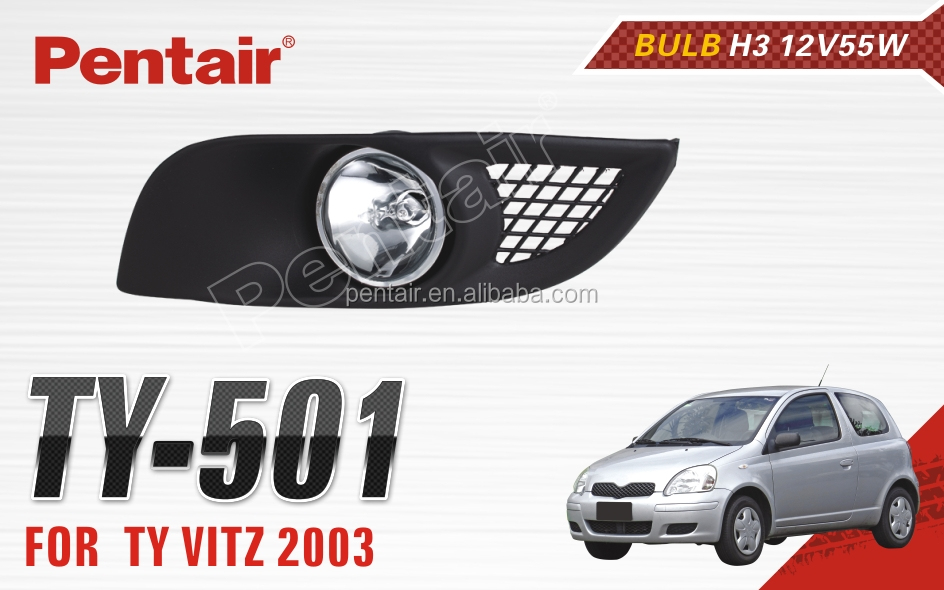 CAR FOG LAMP FOR HIGH QUALITY PENTAIR VITZ LAMP 2003