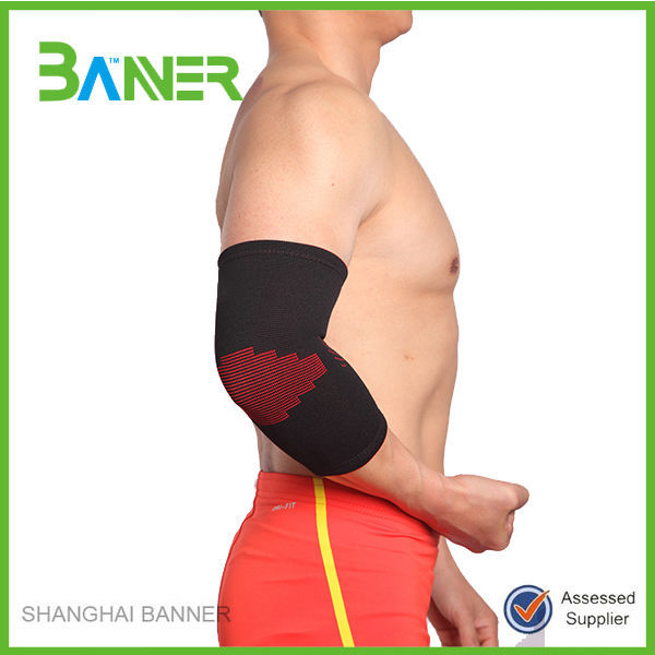 Good quality sports elbow brace knitted elbow support