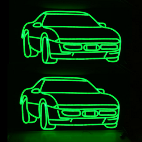 Ferrari car led neon signs