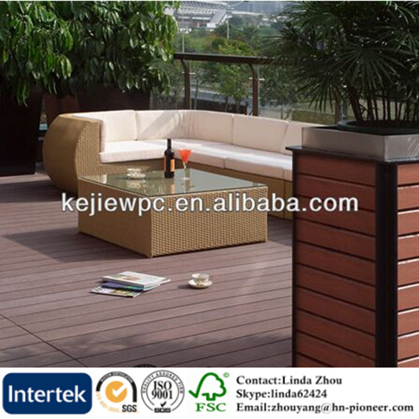 wood plastic composite roof tiles recycle waterproof wood plastic composite decking