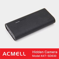 SD630 Power Bank Design hidden cameras with 6000mAh Battery