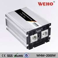 ISO9001 ce-rohs approved modified sine wave power grid tie micro solar inverter