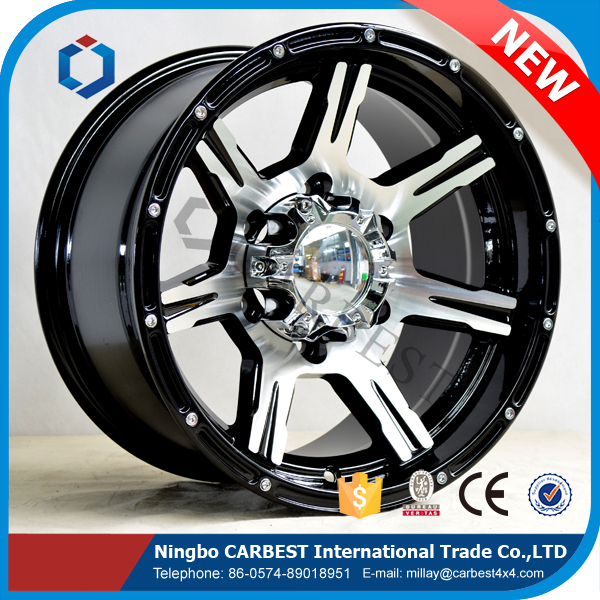 High Quality WLGS03 New Aluminum Alloy Wheel Custom Designs Available for 4x4 Car