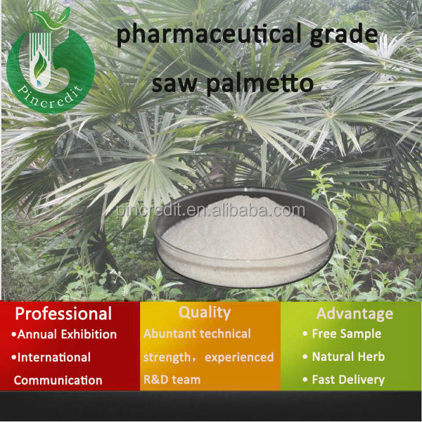 water soluble saw palmetto extract/Saw Palmetto Extract 45% Fatty Acid/pharmaceutical grade saw palmetto