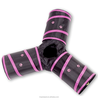 Pet Cat Tunnel - Collapsible 3 Way Play Toy - Tube Fun for Rabbits, Kittens, and Dogs