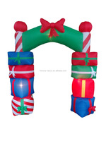 240cm/8ft inflatable arch is make up of gift bags for christmas decoration
