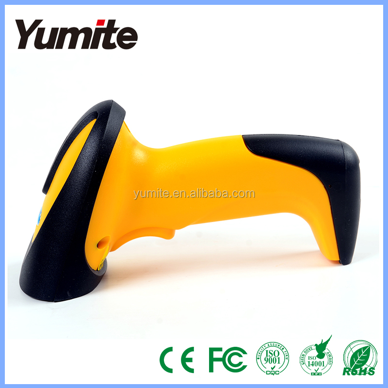 yellow 2d Barcode Scanner, barcode scanner, barcode scanner made in china