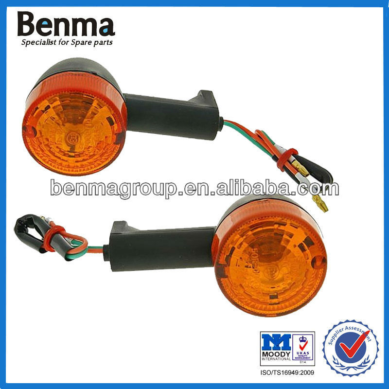 Good quality Long Life time front indicator light assy for Aprilia motorcycle Factory Directly Sell