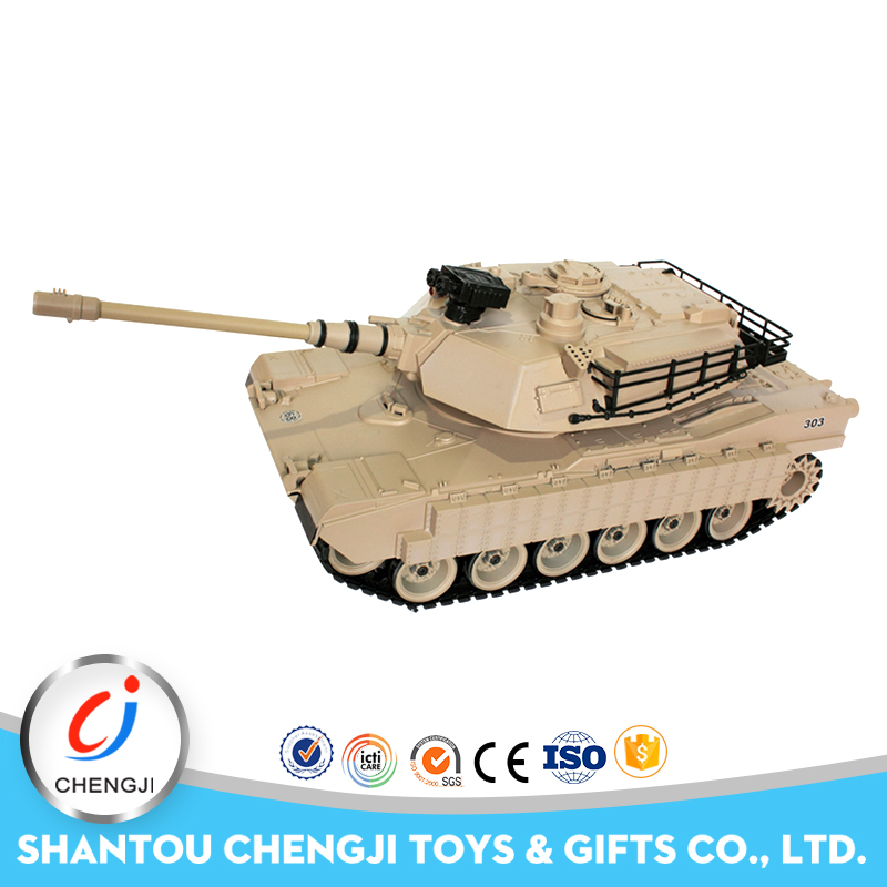 Fashion 1:20 plastic new bright radio controlled war tank with sound