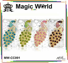 FOR LG PEACOCK RHINESTONE PHONE CASE