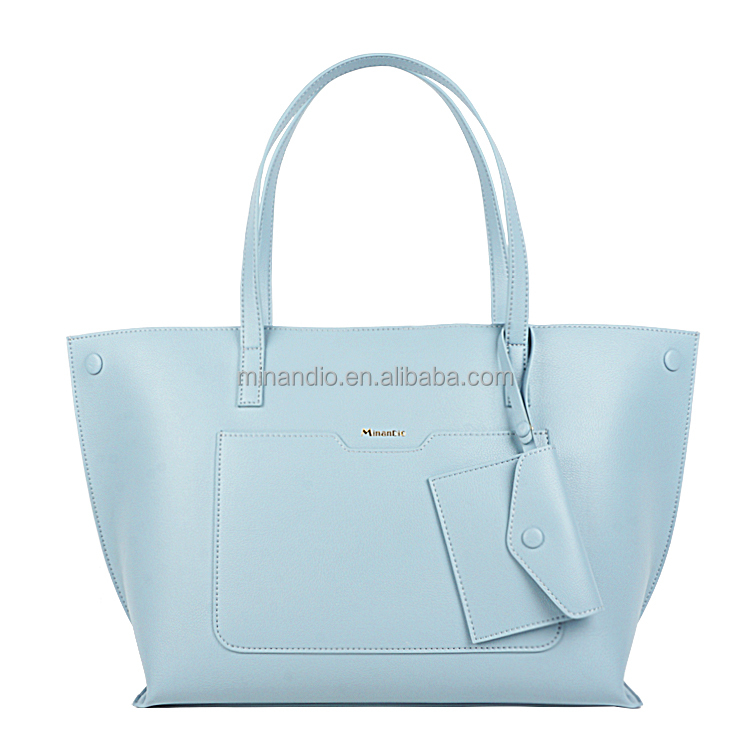 hot sale Japanese style lovely designer pu leather ladies tote handbag