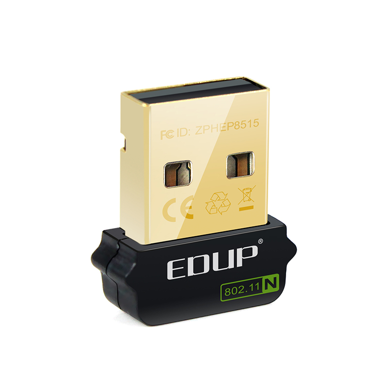 High Quality EDUP Stock 150Mbps Wireless Dongle  With Realtek 8188CUS Chipset For Laptop&Desktop