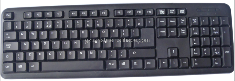 good quality slim usb/ps2 wired keyboard
