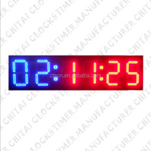Outdoor Waterproof Large Display LED Wall Timer Digital Race Clock