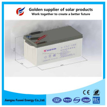 Maintenance free solar gel battery 12V 180Ah for solar panel system