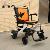 Electric Aluminum Alloy Foldable Wheelchair