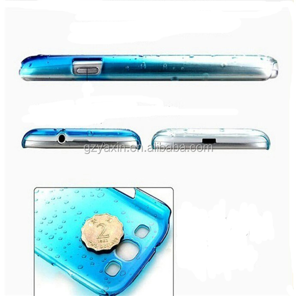 china manufacturer raindrop hard case for iphone 5 accessories accept paypal