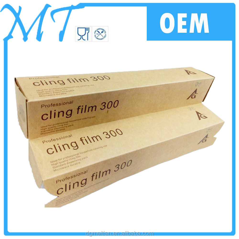 Most po[pular Packaging Film Roll PE Pallet Wrap Stretch Cling Film From Dongguan MT