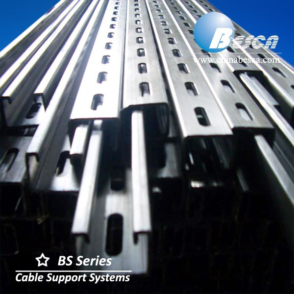 Premium Quality Galvanized Slotted Unistrut Channel for Exporting Mainly