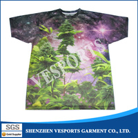 Wholesale sublimation digital printing Popular design custom your own logo t shirts