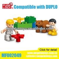 LXGO Building Block Toy Duplo Set Toy Bricks And Blocks