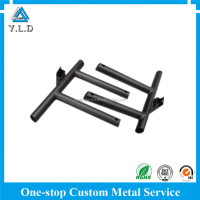 Factory Supply Top Quality OEM ODM Black Coated Metal Chair Bracket For Wheelchair At Best Price