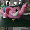 Hot sale lovely animal amusement park electric inflatable funny car