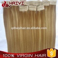 New Arrival Blonde Weaving Extensions Remy Raw Virgin Unprocessed Russian Hair Weft