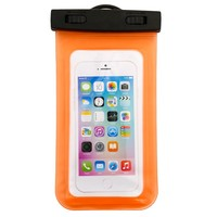 Universal new waterproof mobile phone pouch for iphone 6, pvc waterproof pouch for swimming
