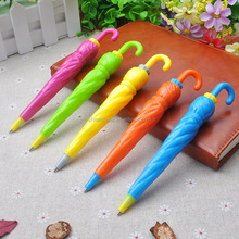 Cute umbrella shaped ball pen for gift