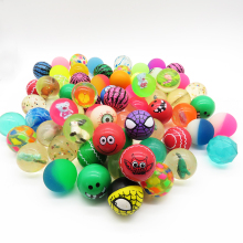 Alibaba China Factory wholesale price rubber mix color 27mm 32mm 45mm bouncy balls
