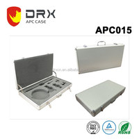 Aluminum transportation tool travel carrying briefcase portable box/case with wheels