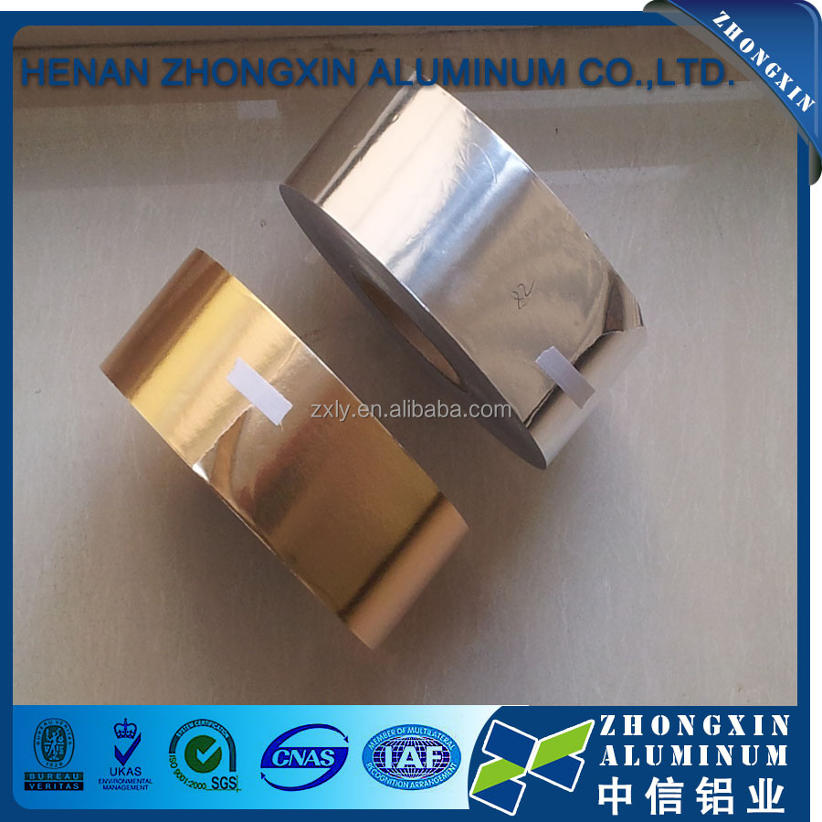 Factory price aluminum foil paper for chocolate wrapper