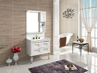 Latest Promotion Price Hotel Furniture Vanity PVC Bathroom Cabinet