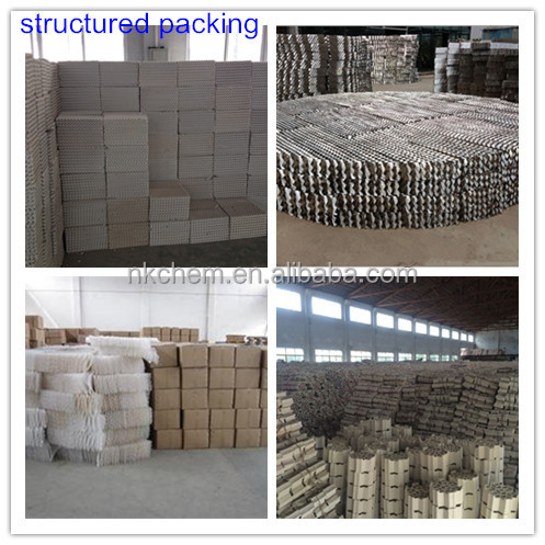 Metal Structured Packing for desulfurize tower packing