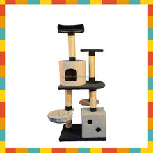 Cat tree scraper player apartment furniture toy bed pet house