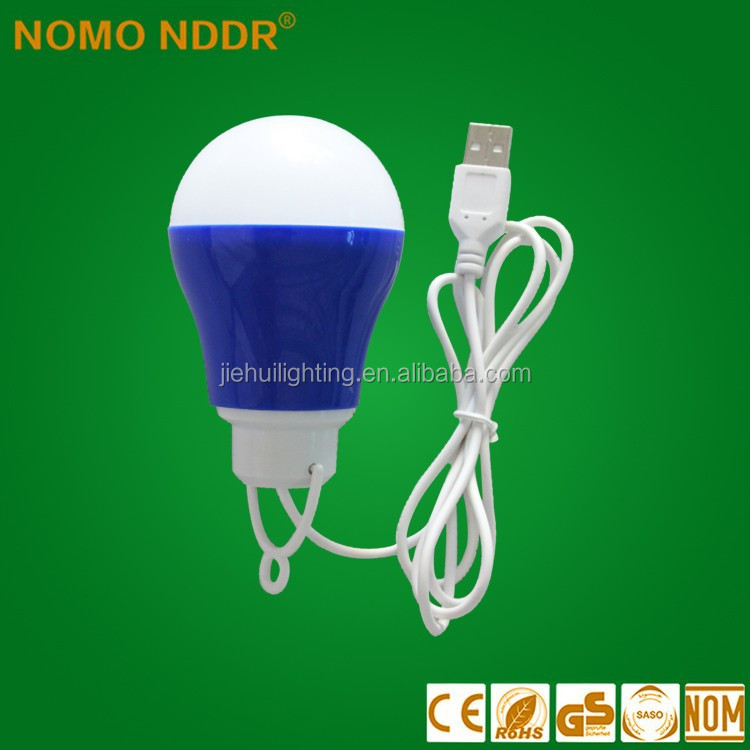 General USB 5V low voltage ball light LED bulbs