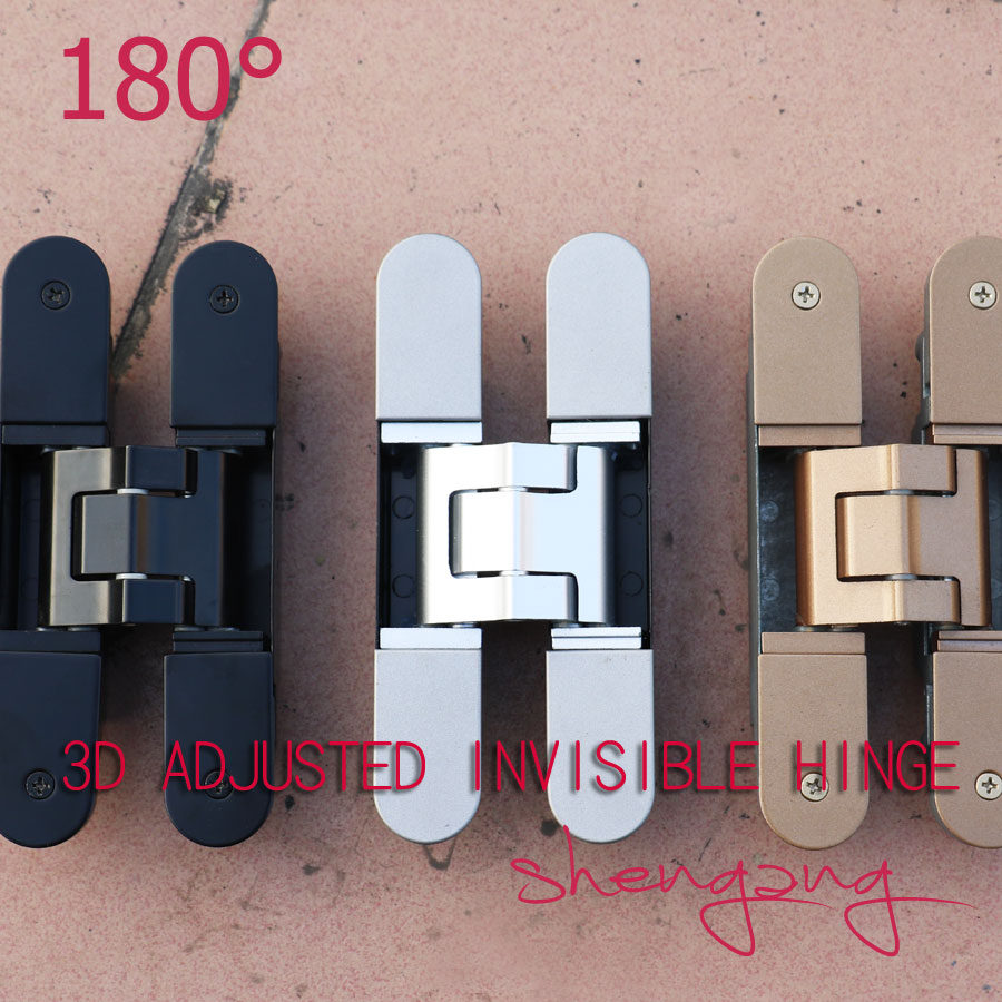 christmas hot sales product 3D adjustable door hinge concealed hinge,door hinge