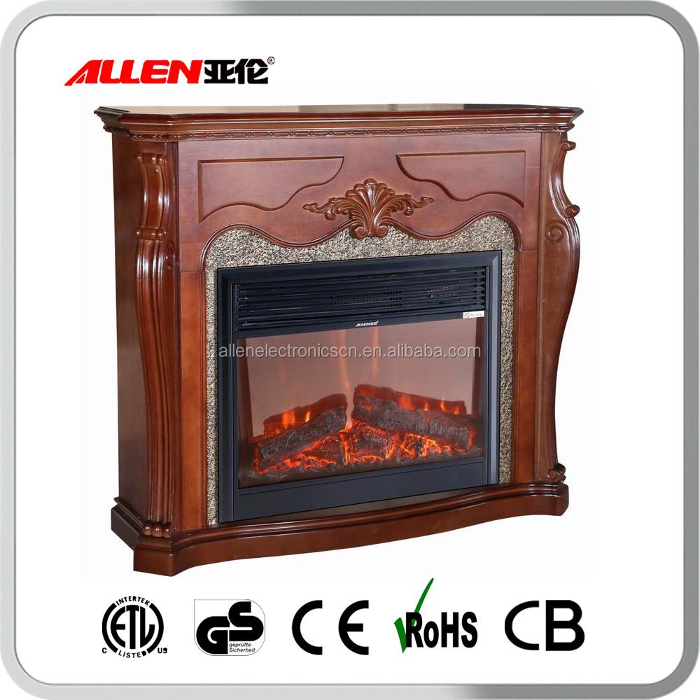 Wholesale 2016 Hot Sale Wood Burning Decorative Electric Fireplace