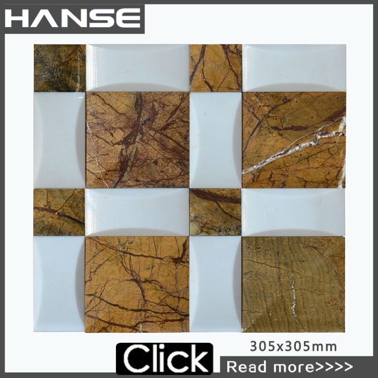 HS-M3316 jade mosaic/glow in the dark mosaic tile/onyx mosaic