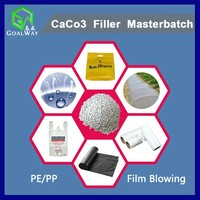 Plastic CaCo3 Filler Masterbatch (for PE/PP Film Blowing)