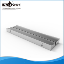 Bath Cabin Door Pull Double Side Aluminium Door Handle Of Shower Glass