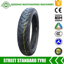 Sport motorcycle tubeless tire 80/90-14 with best price quality guarantee