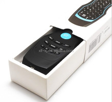 2.4G wireless multimedia remote control keyboard for Android TV box air mouse for android tv box