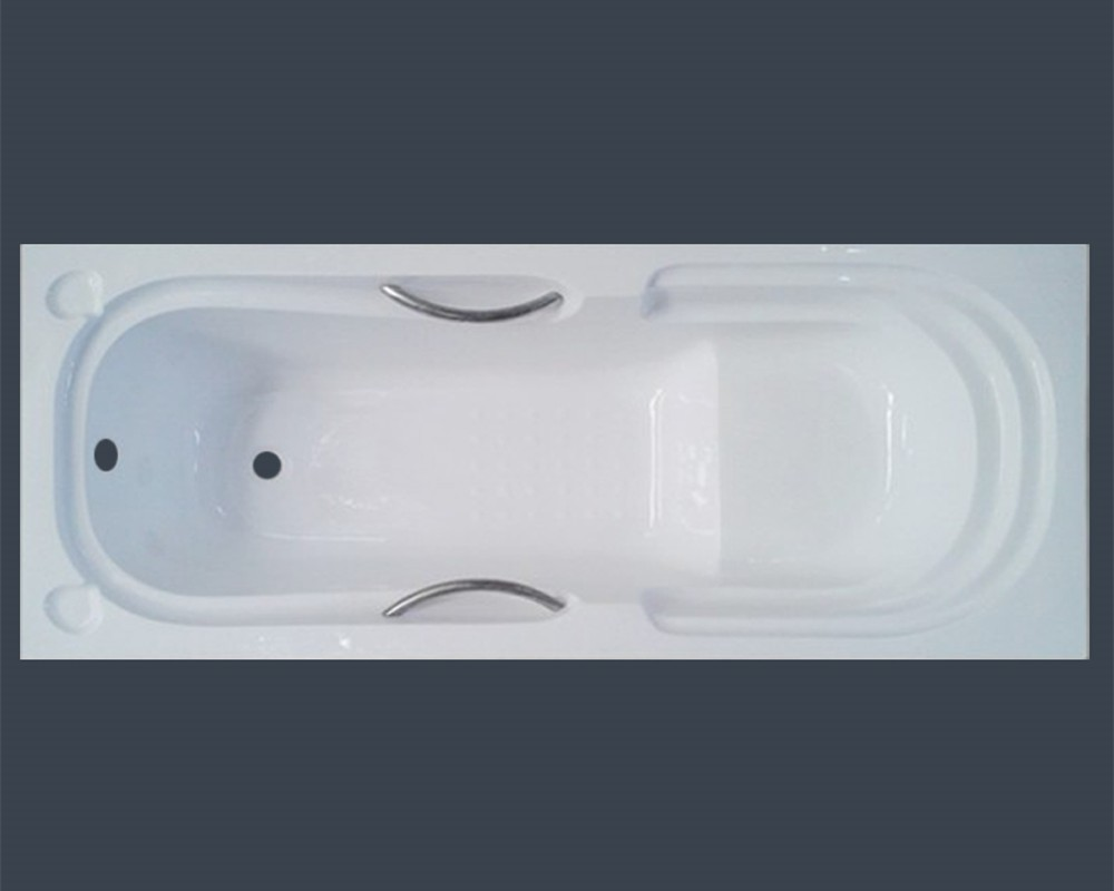 Acrylic Tub With Handles & Seat In Built In Type For Bath - Buy Tub ...
