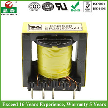 High Isolation Voltage ER28 Outdoor Use Transformer Rain Tight Transformer UL ROHS Certified