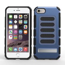 Oem Shockproof Mobile Accessories Shell Fashion Design Armor TPU PC Smartphone Cover Cell Phone Case For Iphone 6/6plus/7/7plus