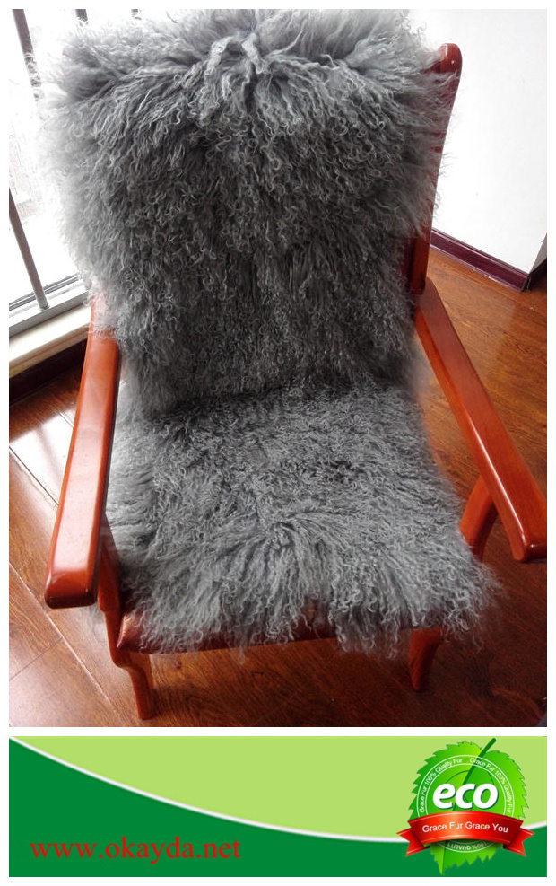 Original Long Haired Tibetan Sheepskin Fur rugs