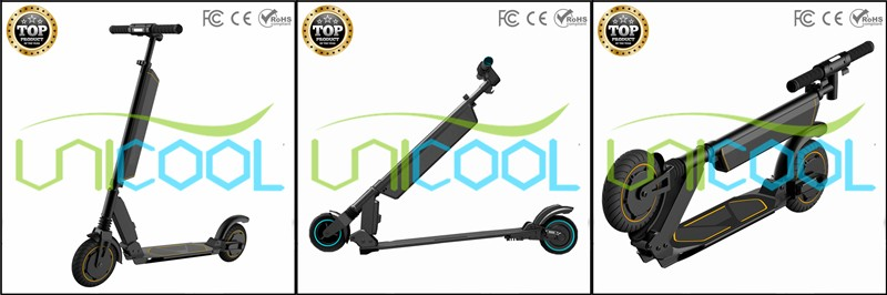 2017 Battery Can Be Taken Off 8 Inch Wheel Foldable Electric Scooter with LCD Display