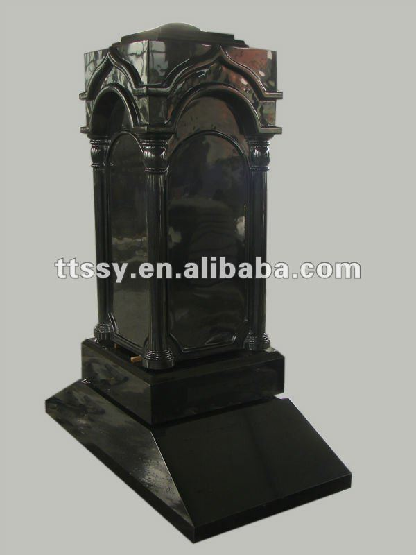 European Style Granite Monuments Grave Tombstone